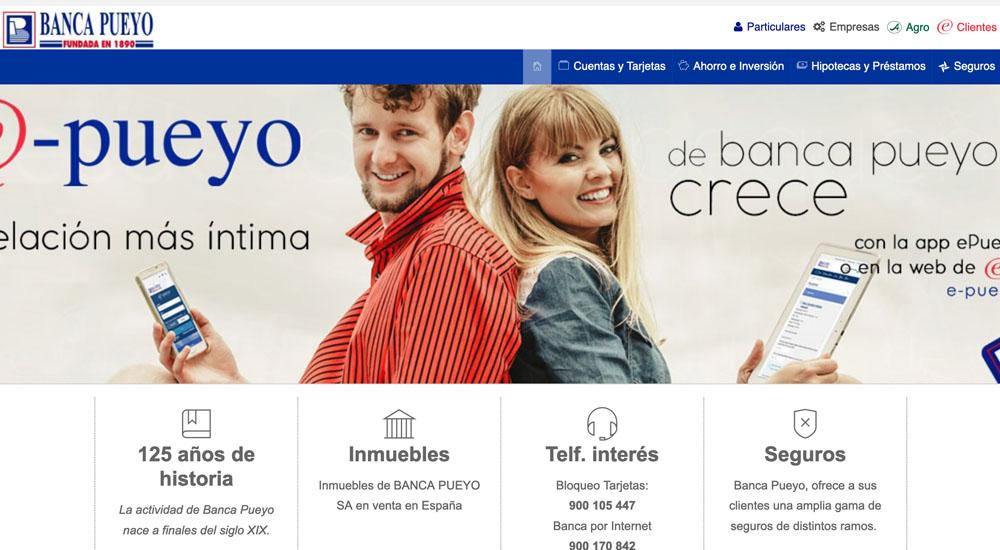 Información sobre Banca Pueyo