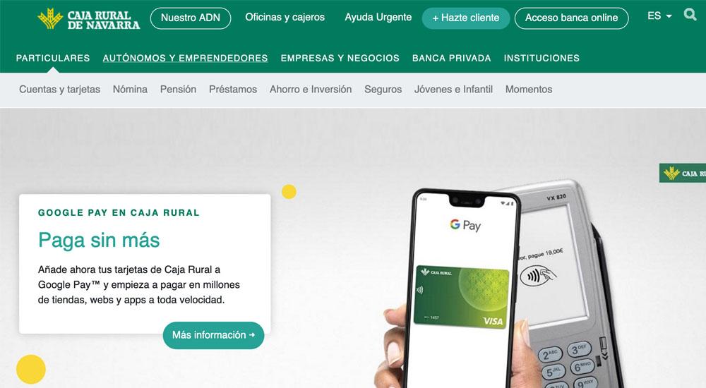 Información sobre Caja Rural de Navarra