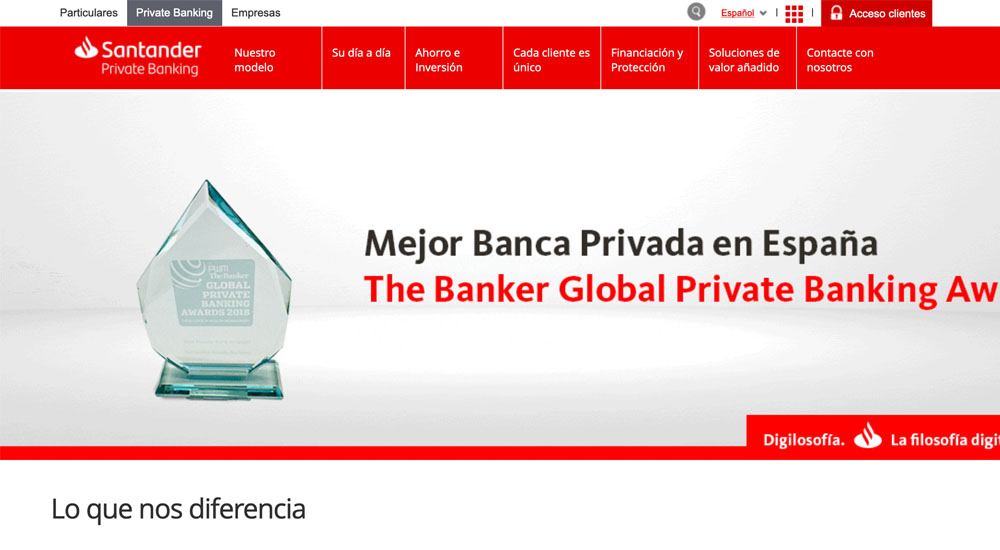 Información sobre Popular Banca Privada