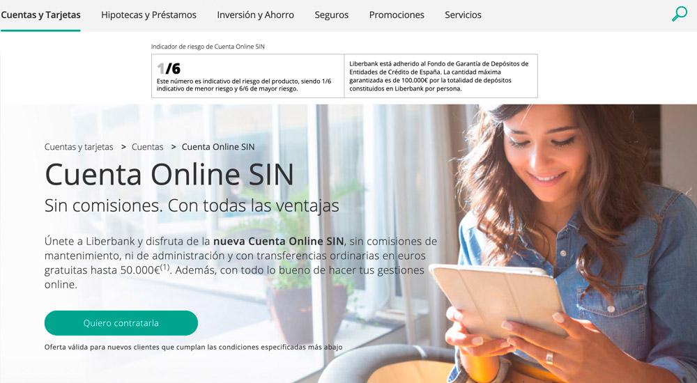 Cuenta Online SIN