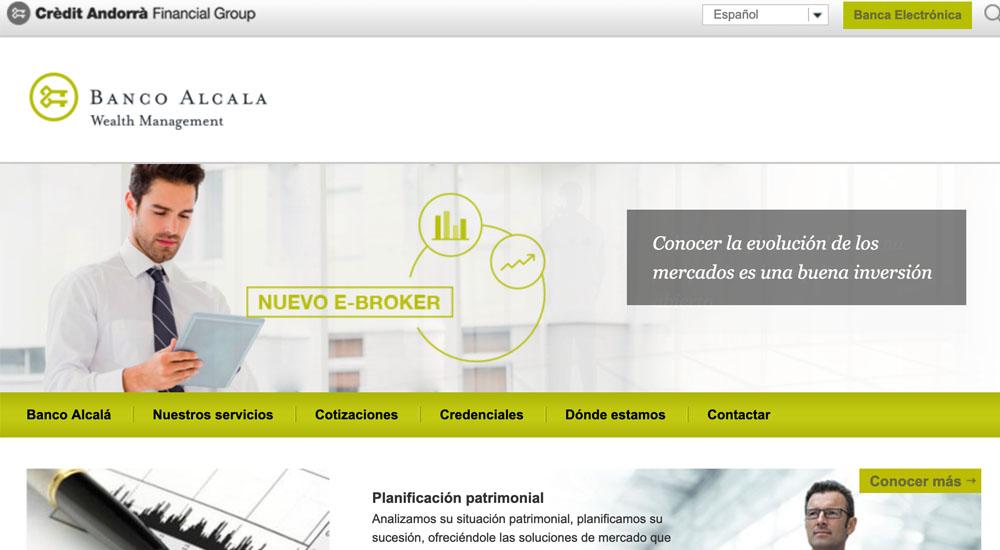 Información sobre Banco Alcalá