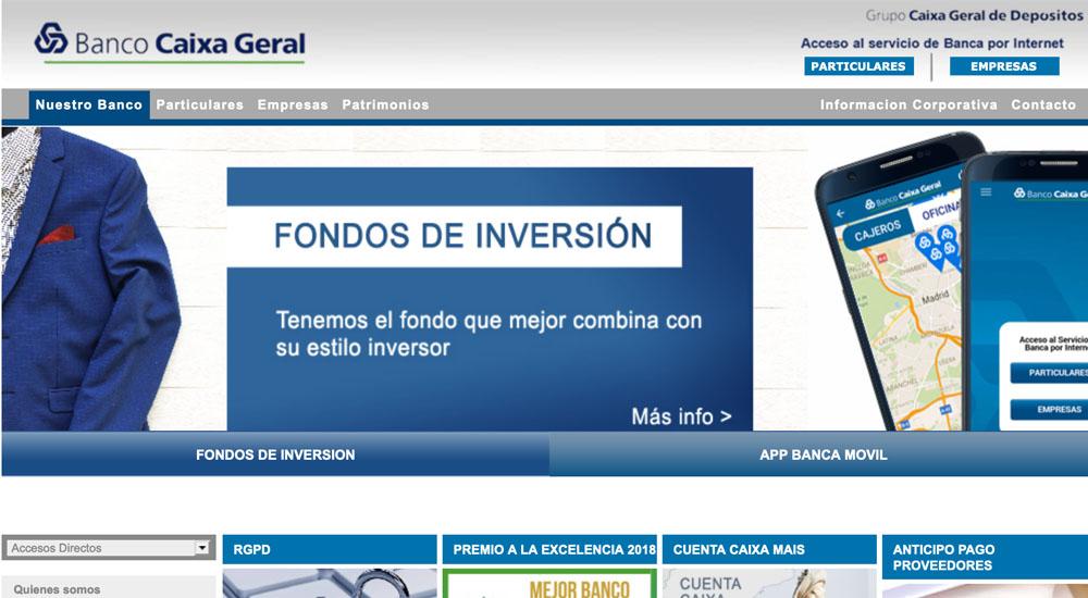 Información sobre Banco Caixa Geral