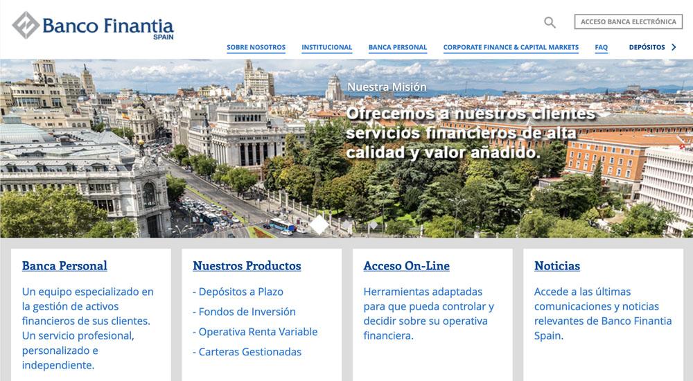Información sobre Banco Finantia Sofinloc