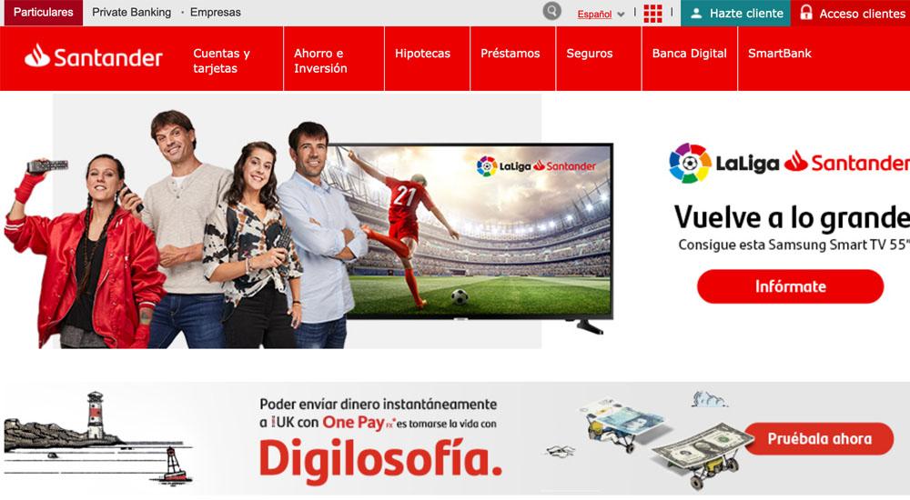 Información sobre Banco Santander