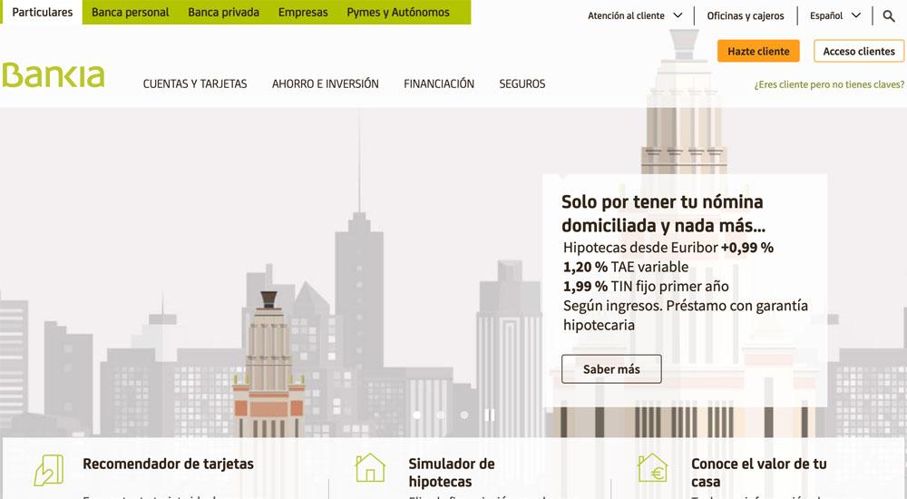 Información sobre Bankia