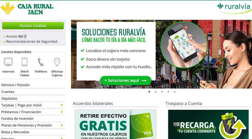 Información sobre Caja Rural Jaén