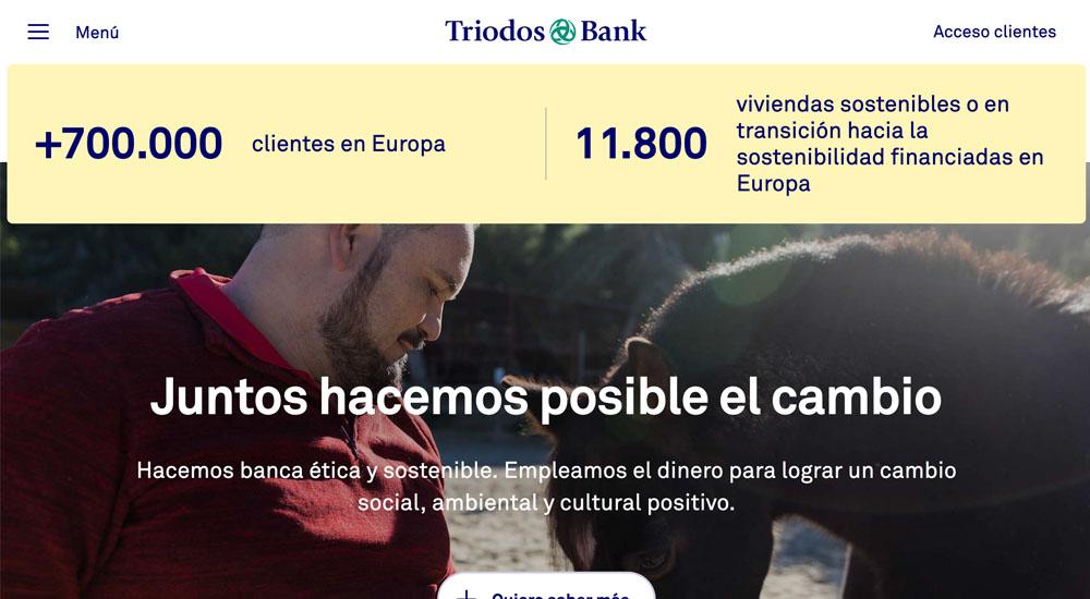 Información sobre Triodos Bank